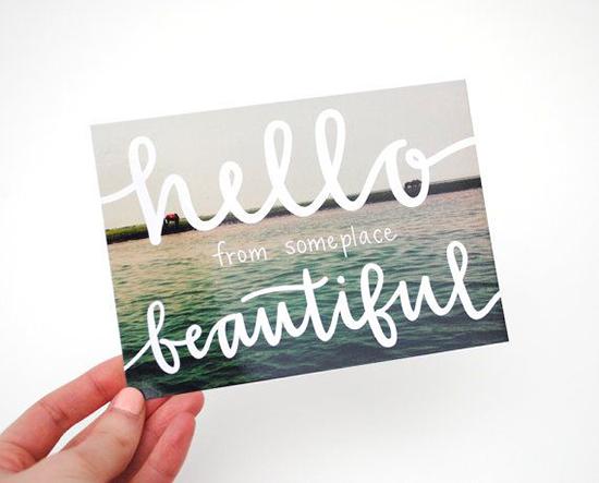 Postcard-Design-Hello-Beautiful